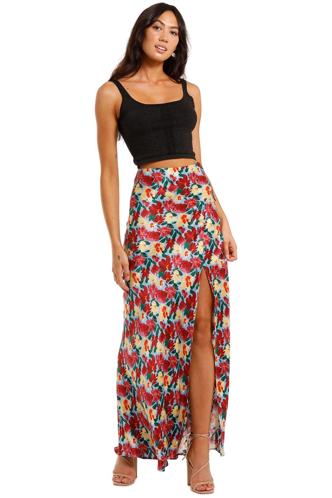 Bec and Bridge Lucette Midi Skirt Floral print