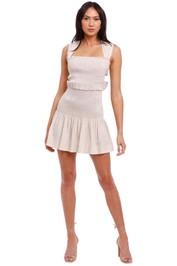 Bec and Bridge Minou Mini Dress beige