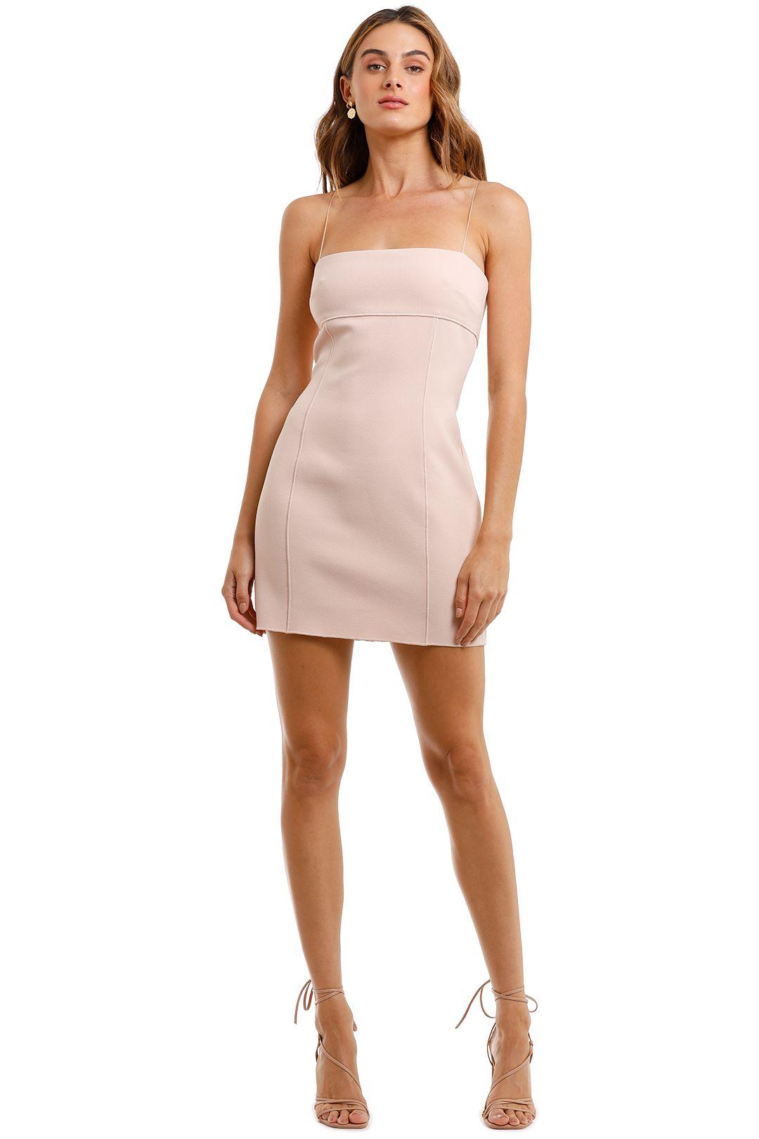 Bec and Bridge Pearl Pink Mini Dress pastel