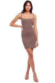 Bec and Bridge Riviera Mini Dress brown