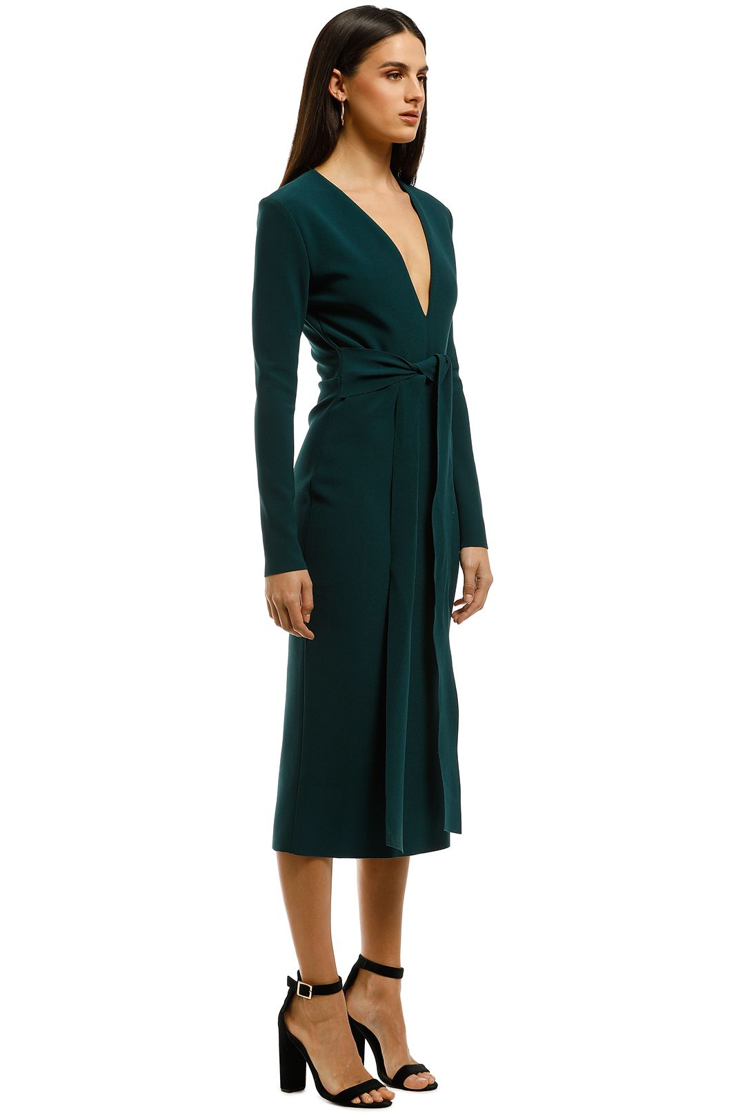 Bec+Bridge-Tasha-LS-Midi-Dress-Emerald-Side