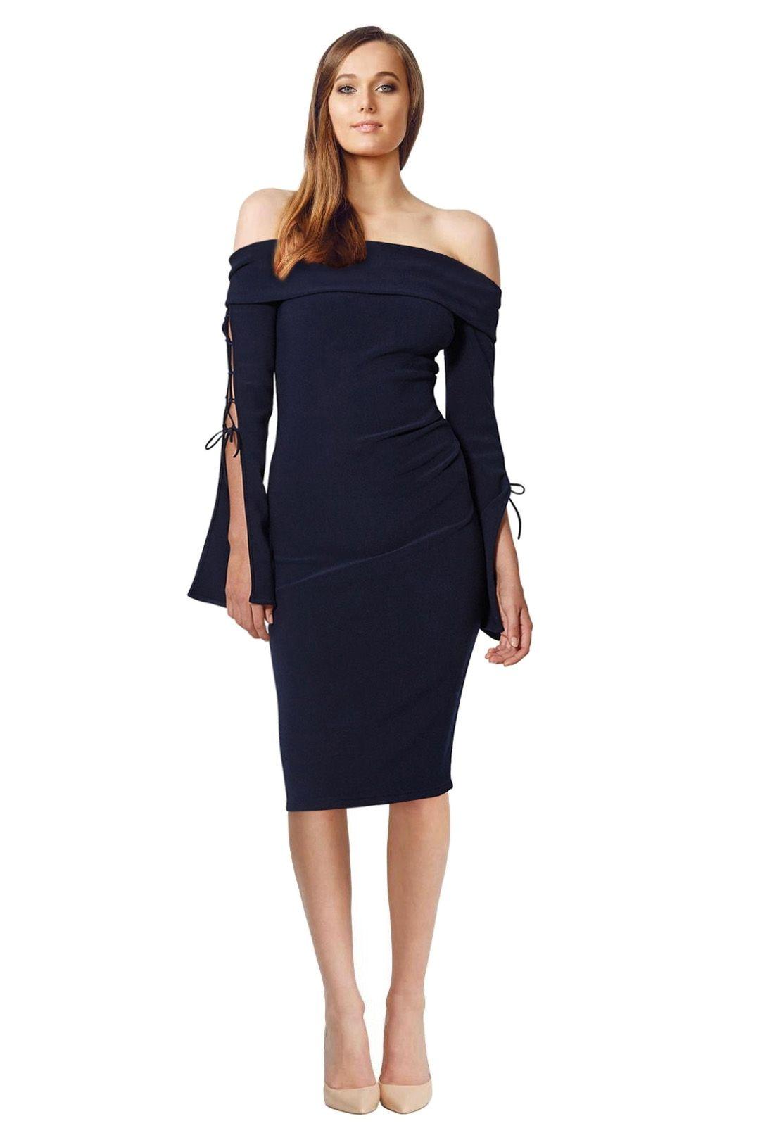 Bec & Bridge - Winkworth Dress - Navy - Front