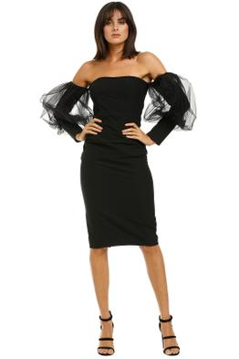 Bianca-and-Bridgett-Harper-Midi-Dress-Black-Front