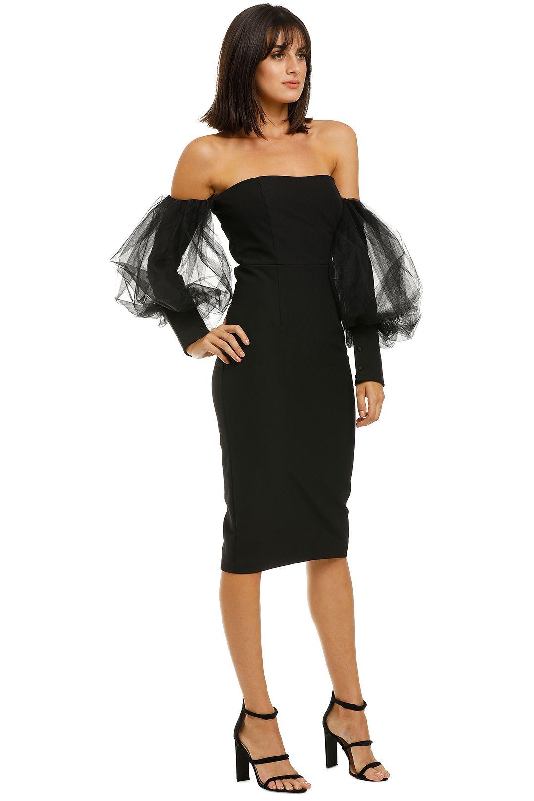 Bianca-and-Bridgett-Harper-Midi-Dress-Black-Side