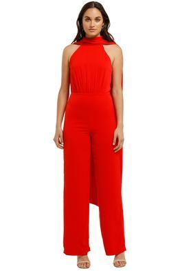 Bianca-and-Bridgett-scarlet-jumpsuit-red-Front