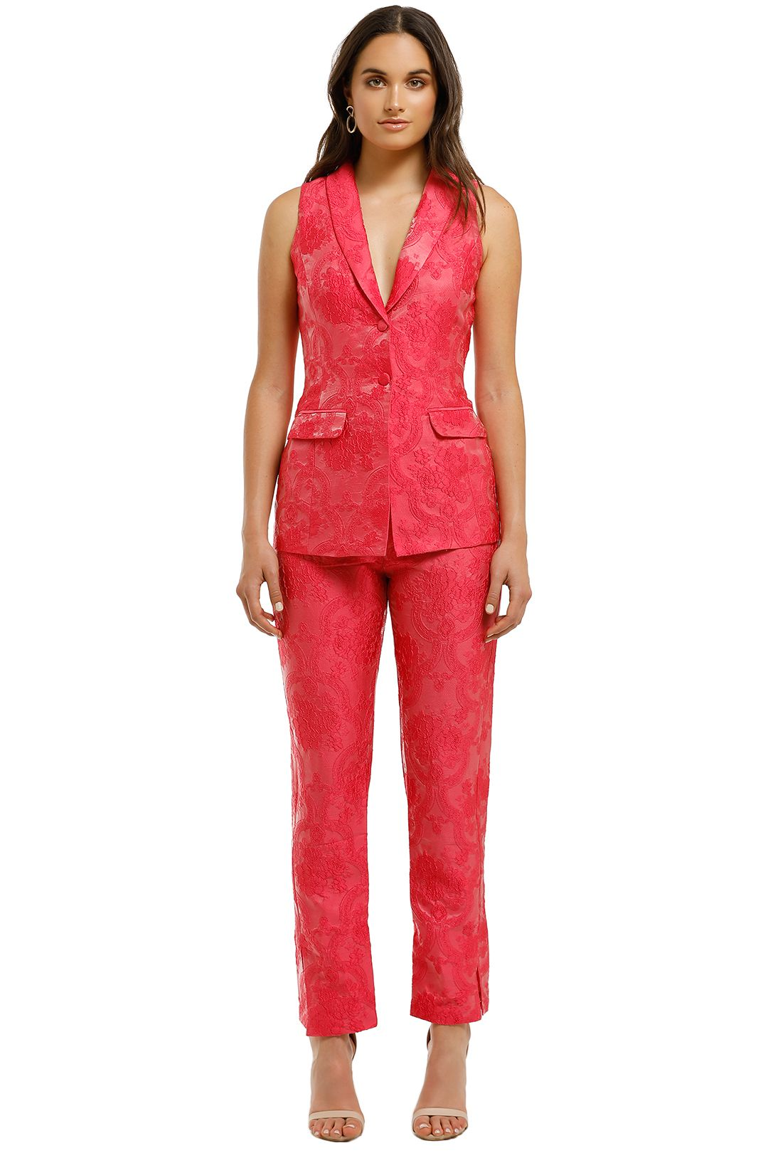 Bianca-and-Bridgett-Dream-Vest-and-Pant-Set-Pink-Front
