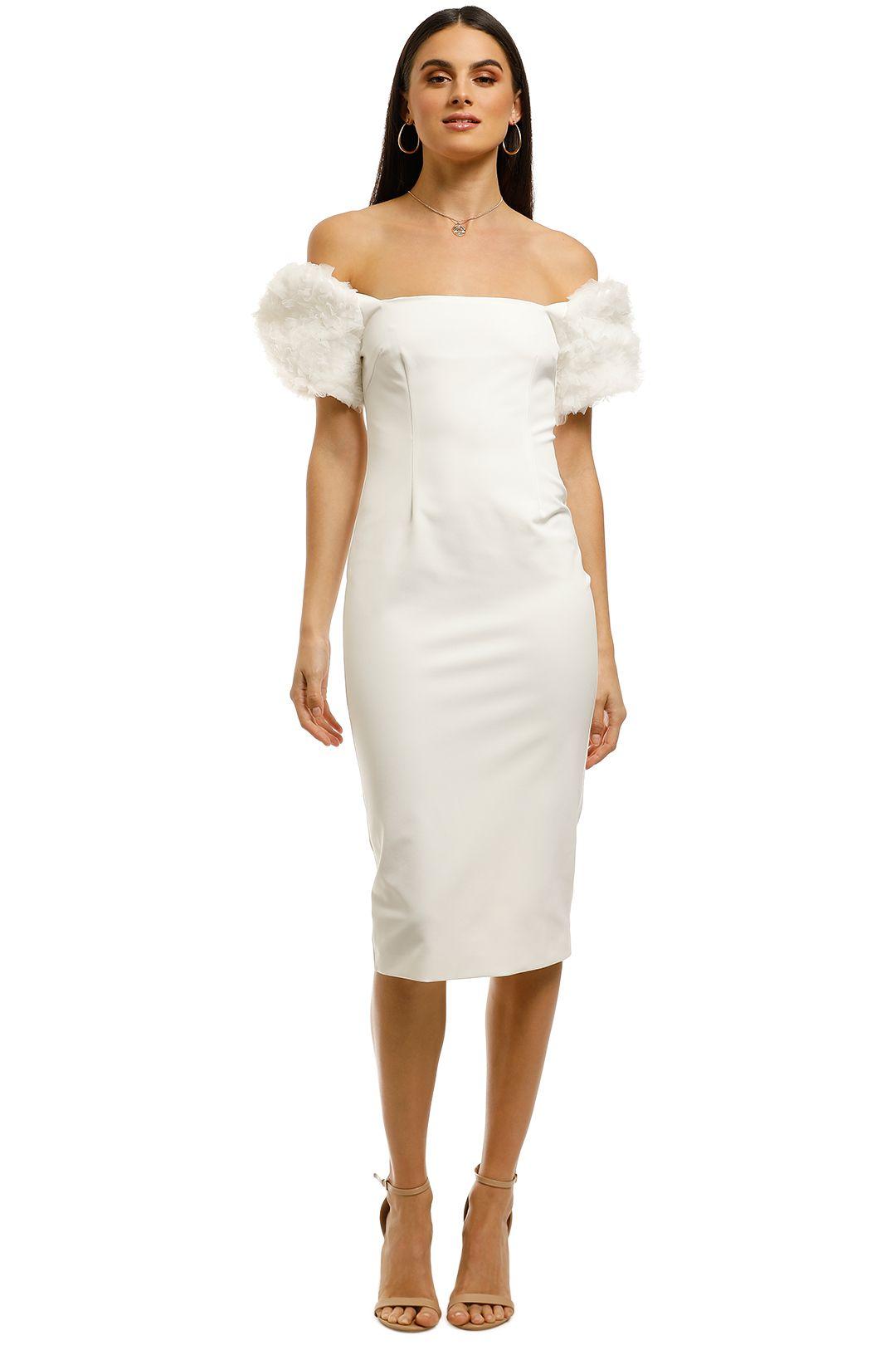 Bianca and Bridgett-Blair Dress-White-Front
