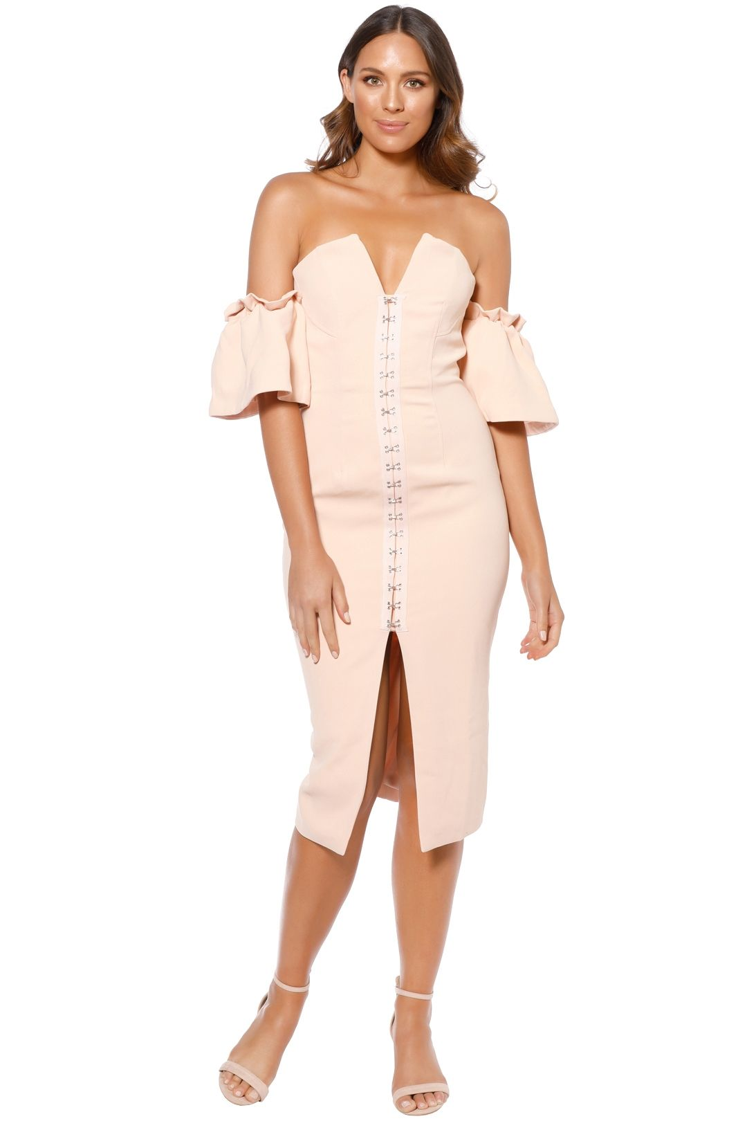 Bless'ed Are The Meek - Laia Dress - Shell - Front