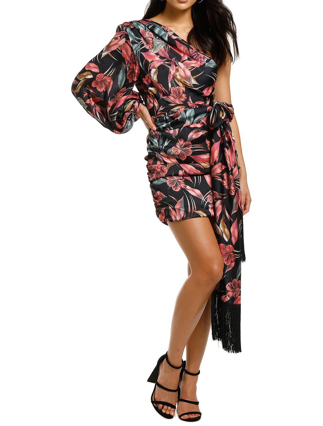 Bronx-and-Banco-Flamingo-Mini-Dress-Front