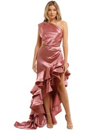 Bronx-and-Branco-Monica-Gown-Rose-Front