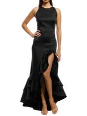 Bronx and Banco - Frida Flame Dress - Black - Front