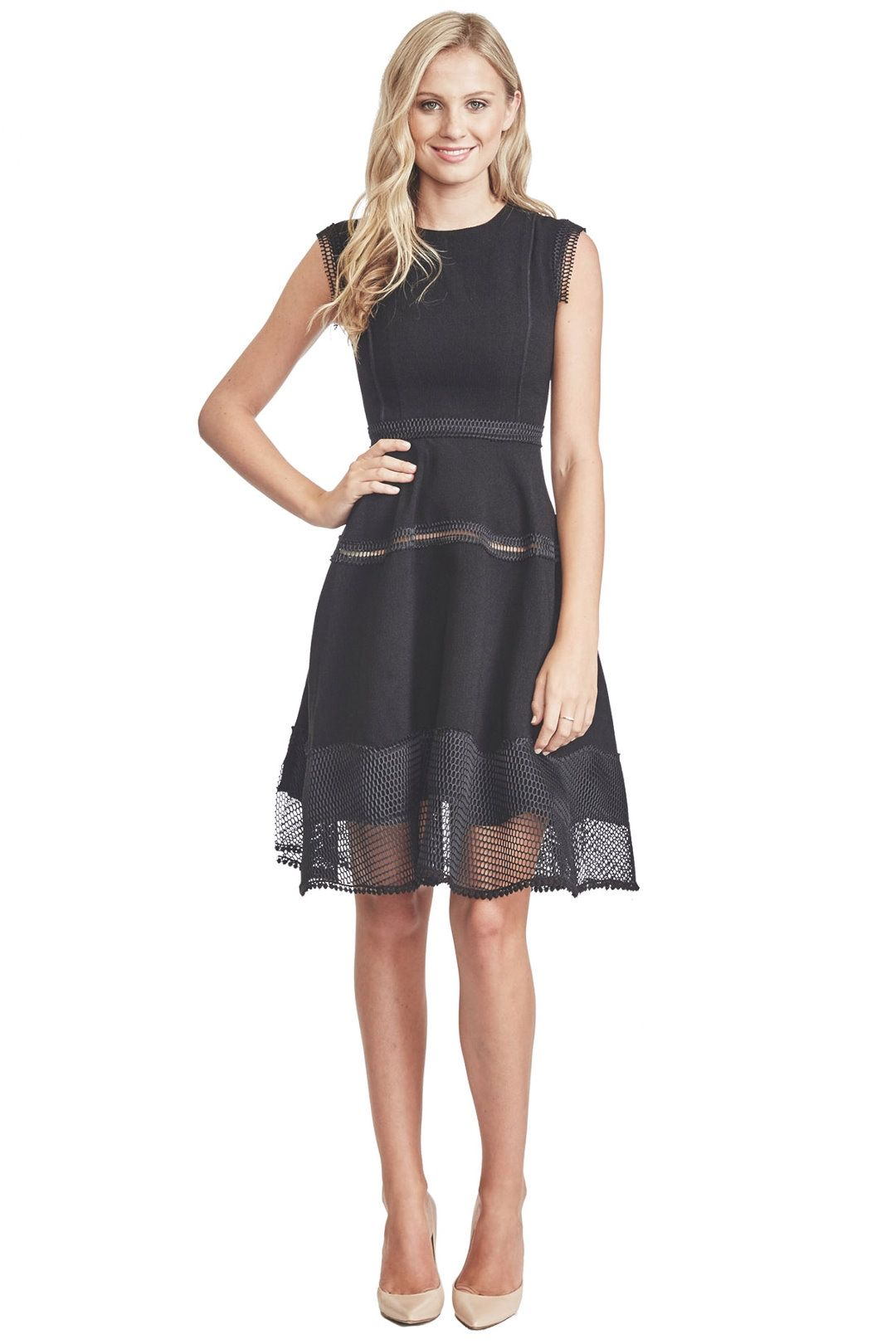 Bronx and Banco - Hampton Dress - Black - Front