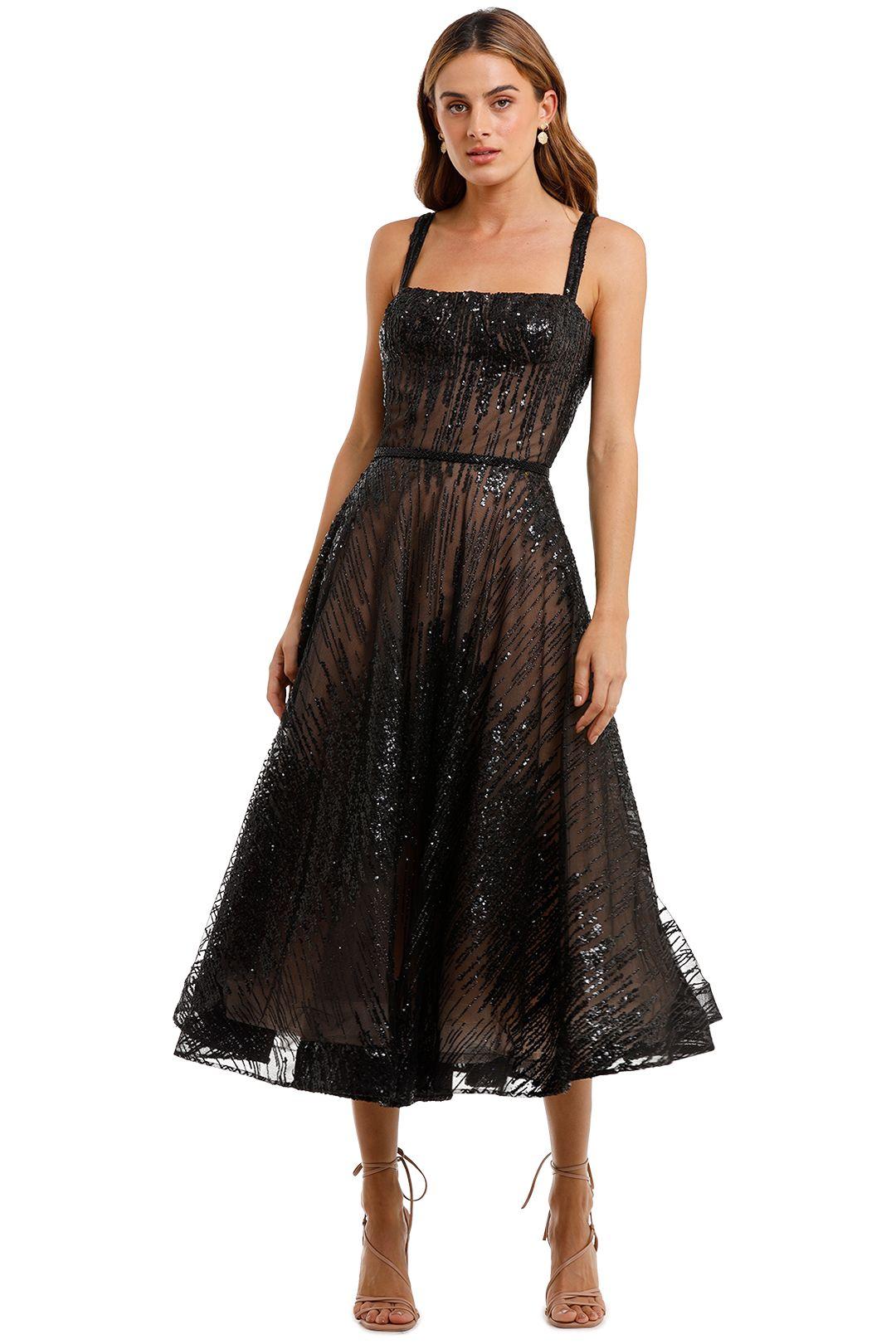 Bronx and Banco Mademoiselle Noir Dress Black