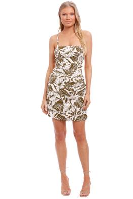 Bronx and Banco Palm Mini Dress backless