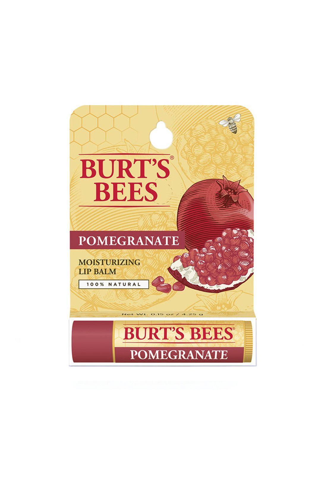 burts-bees-lip-balm-pomegranate-replenishing-tube