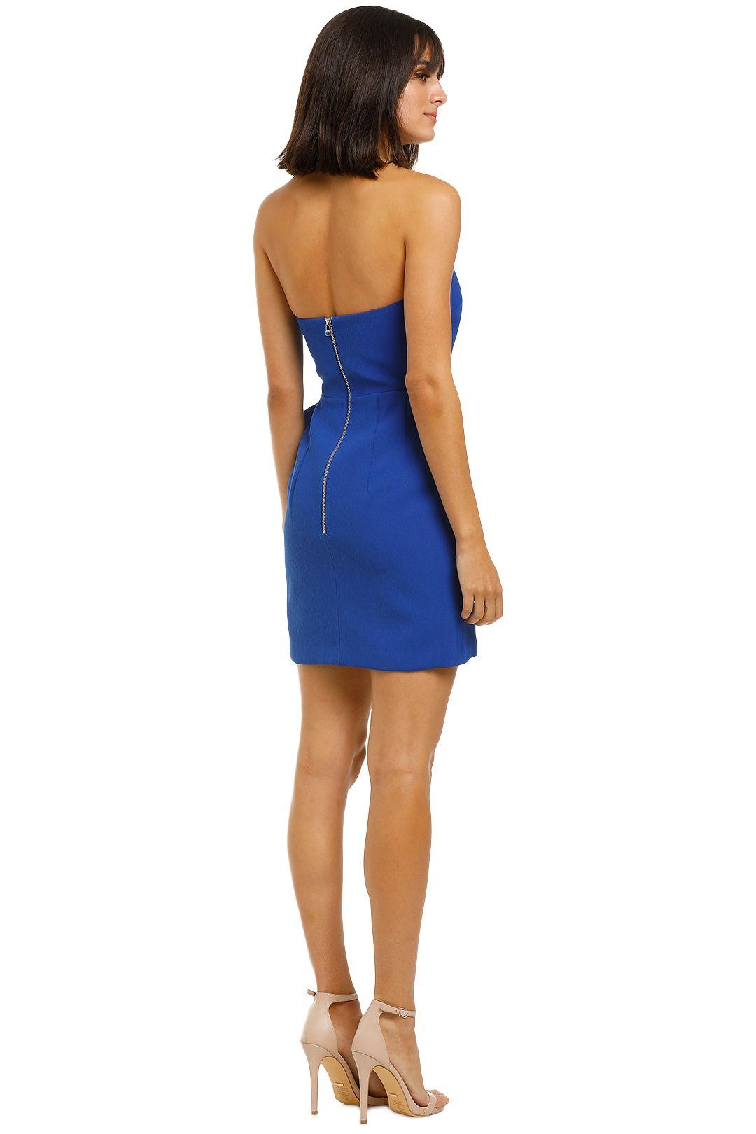 By-Johnny-Bow-Tie-Mini-Dress-Cobalt-Back