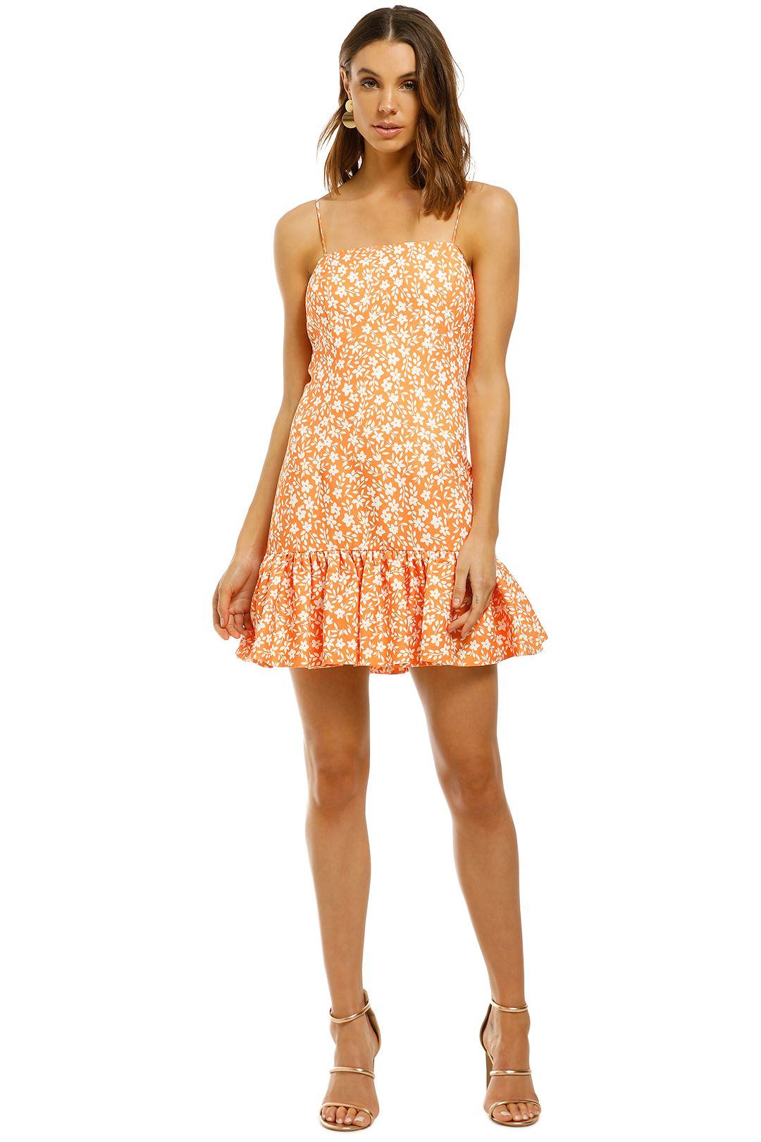 By-Johnny-Lola-Frill-Mini-Shift-Dress-Front