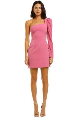By-Johnny-Shell-Sleeve-Mini-Pink-Front