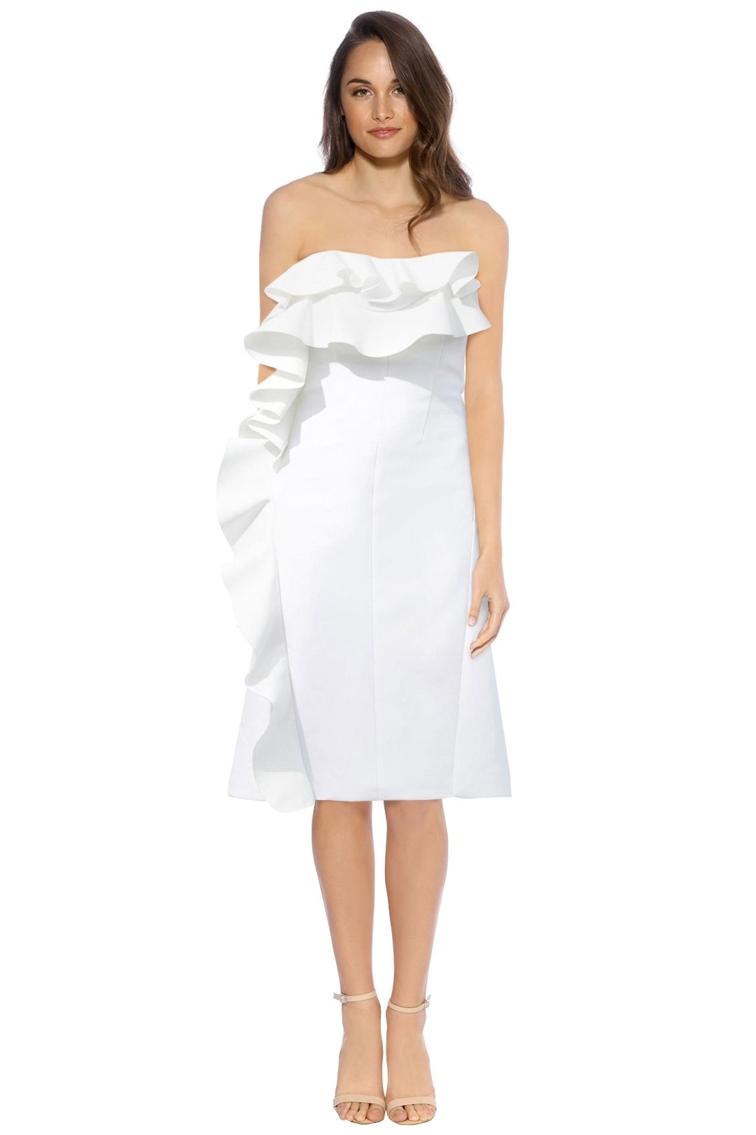 By Johnny - Tess Angel Strapless Dress - White - Front