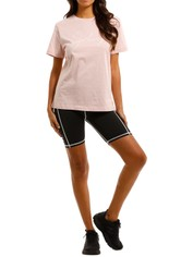 By Johnny Unisex Autograph Tee Pink