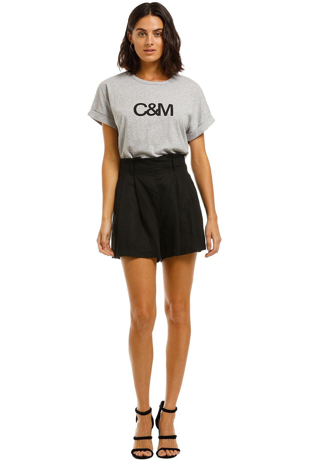 C&M-Camilla-And-Marc-Huntington-Logo-Tee-Grey-Front