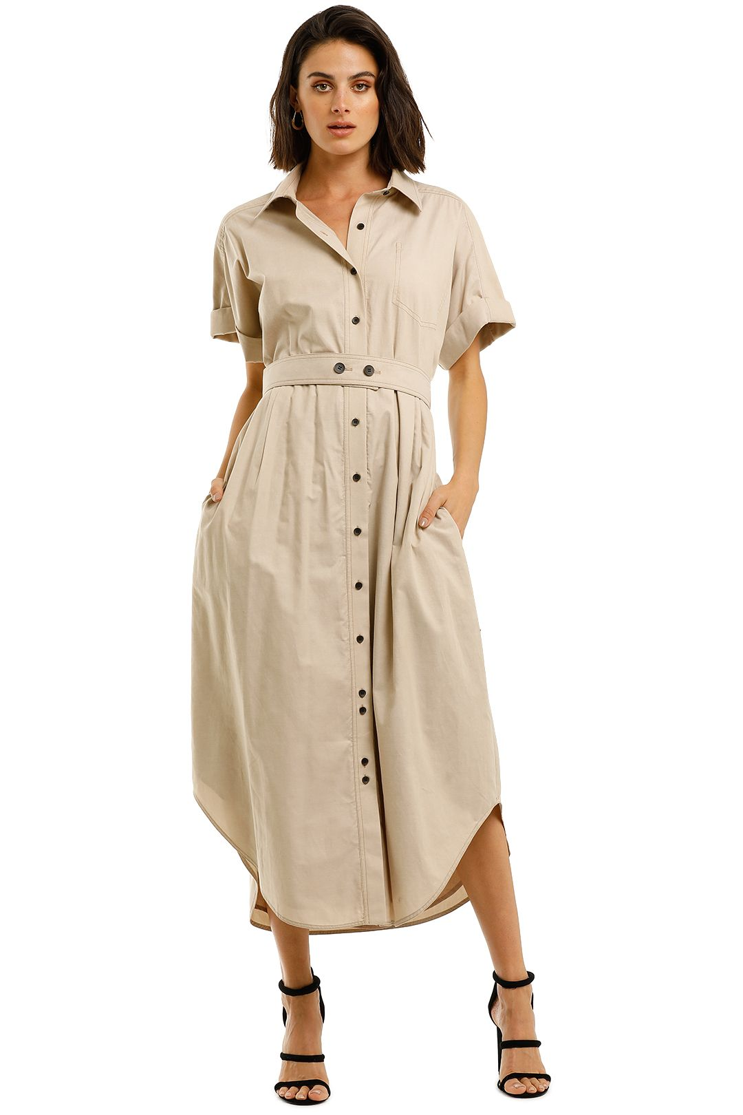 C&M-Camilla-And-Marc-London-Shirt-Dress-Buff-Front