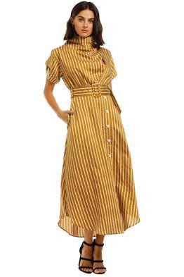 C&M-Camilla-And-Marc-Zion-Stripe-Dress-Tan-White-Front