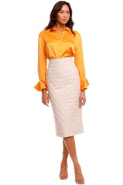 C&M Camilla And Marc Ace Skirt quilted