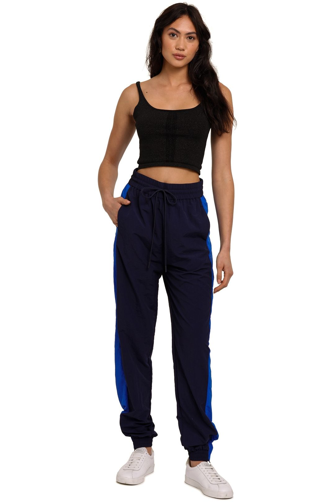 C&M Camilla And Marc Jukes Track Pant blue