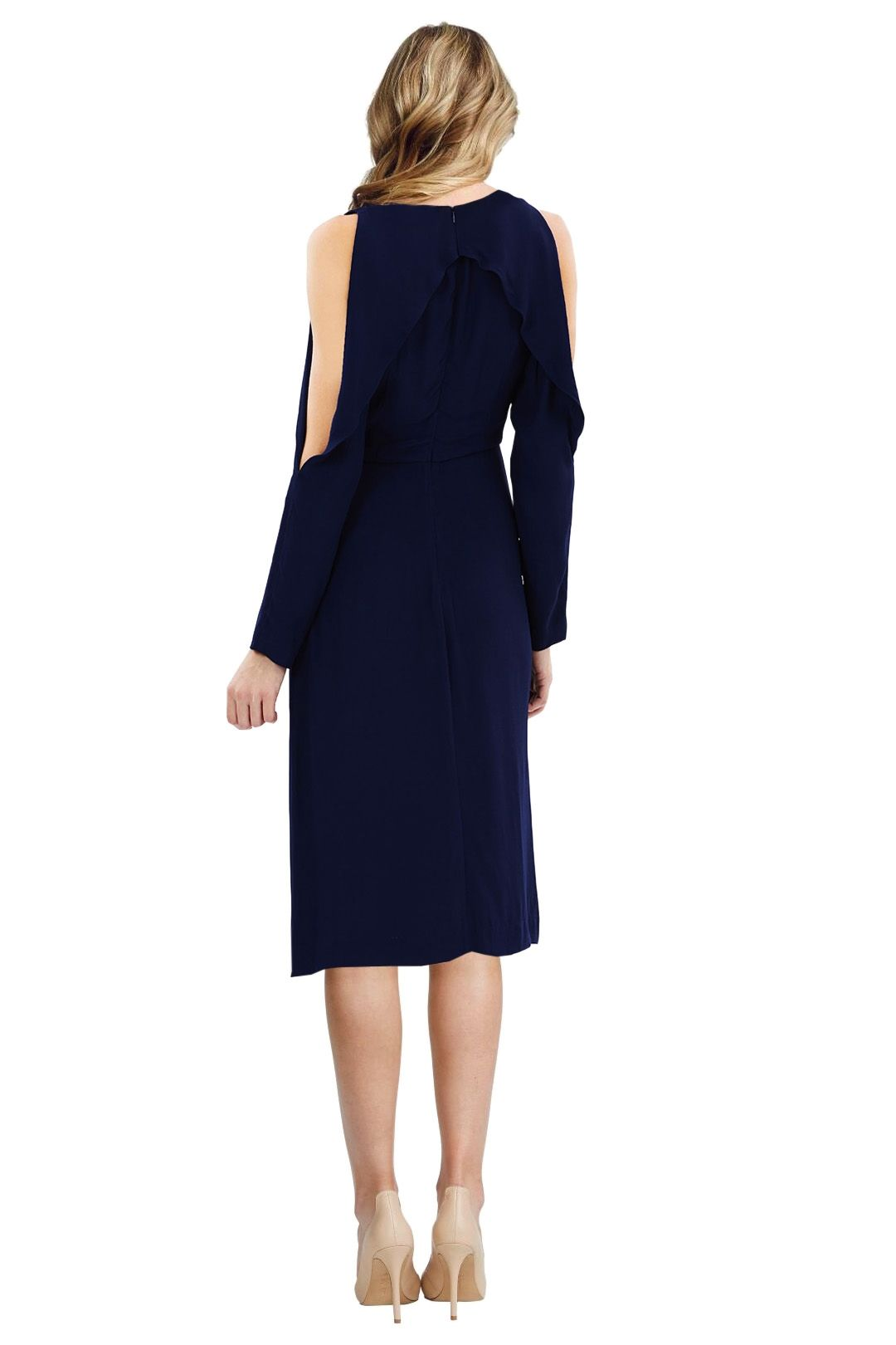 C/MEO Collective - Do It Now Dress - Blue - Back