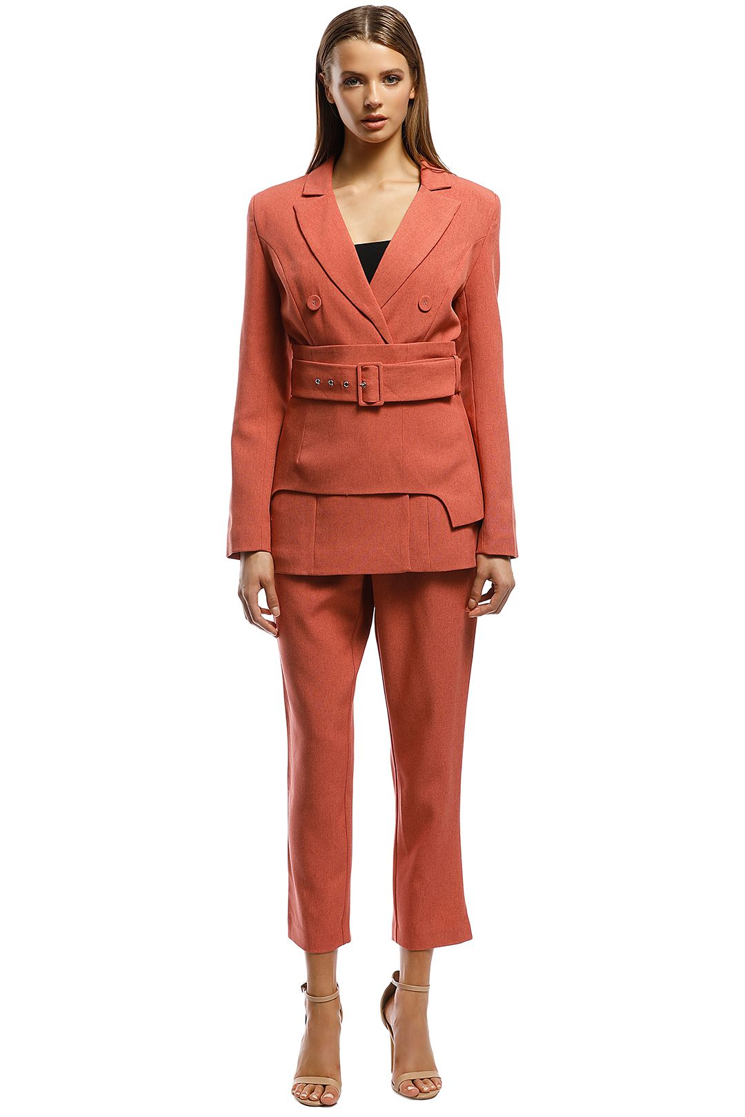 CMEO Collective - Mode Blazer - Pink - Front