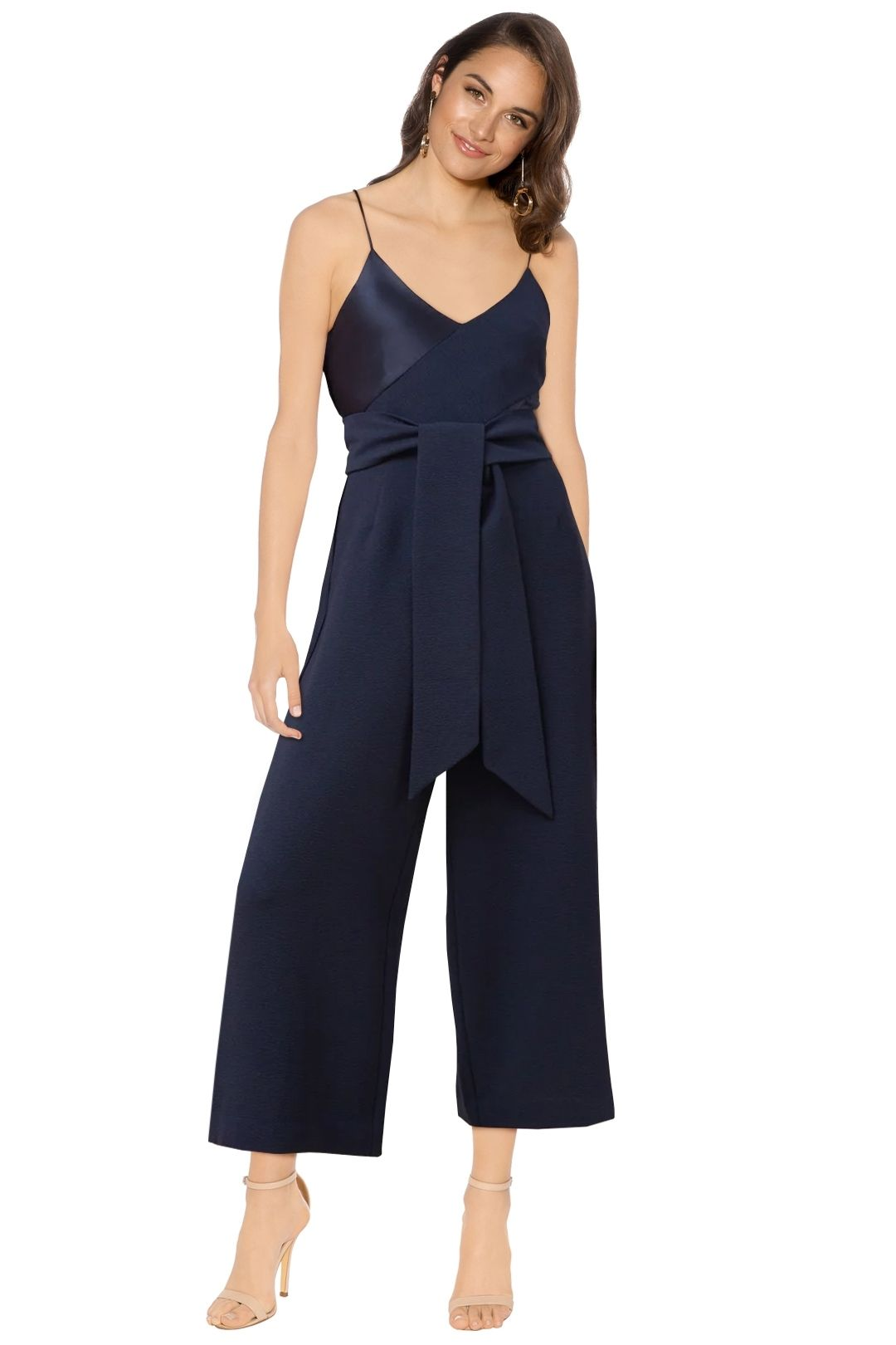 C/MEO Collective - Translation Jumpsuit - Navy - Front