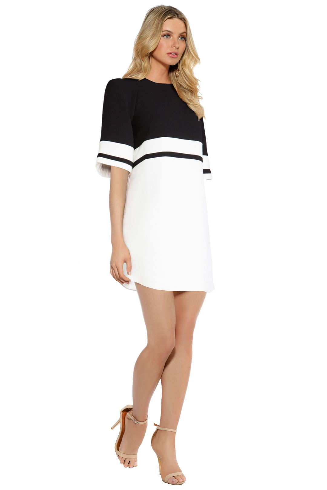 C/MEO Collective - We Are Young Dress - Black White - Side