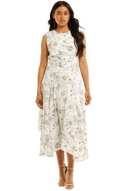 Calvin-Klein-Handkerchief-Hem-Midi-Dress-Front