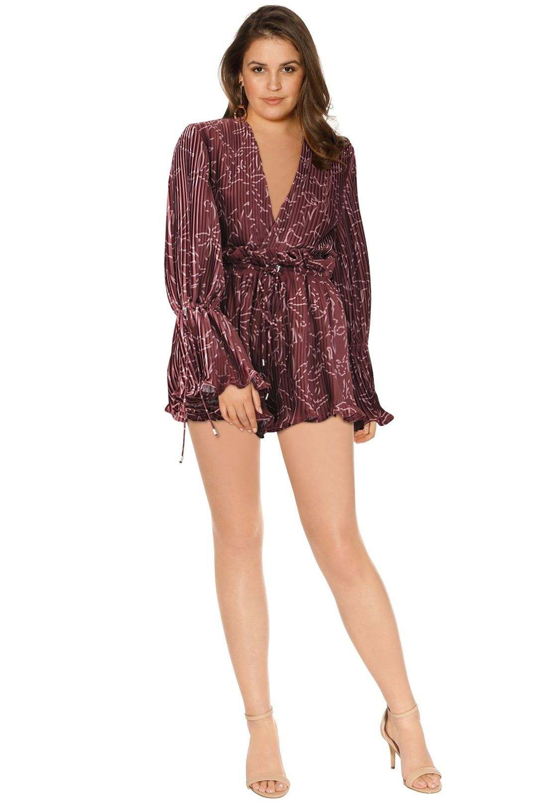 Cameo - Dream Chaser Playsuit - Rose - Front