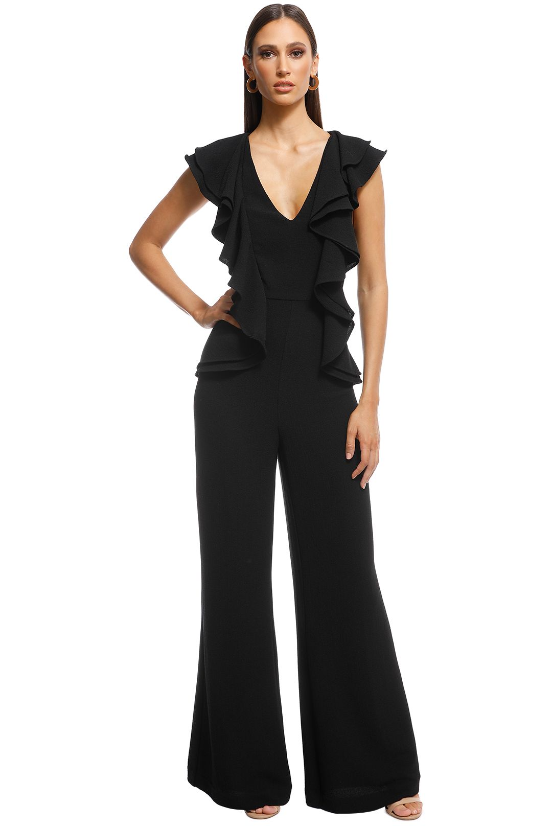 Cameo - Metal Clouds Pantsuit - Black - Front