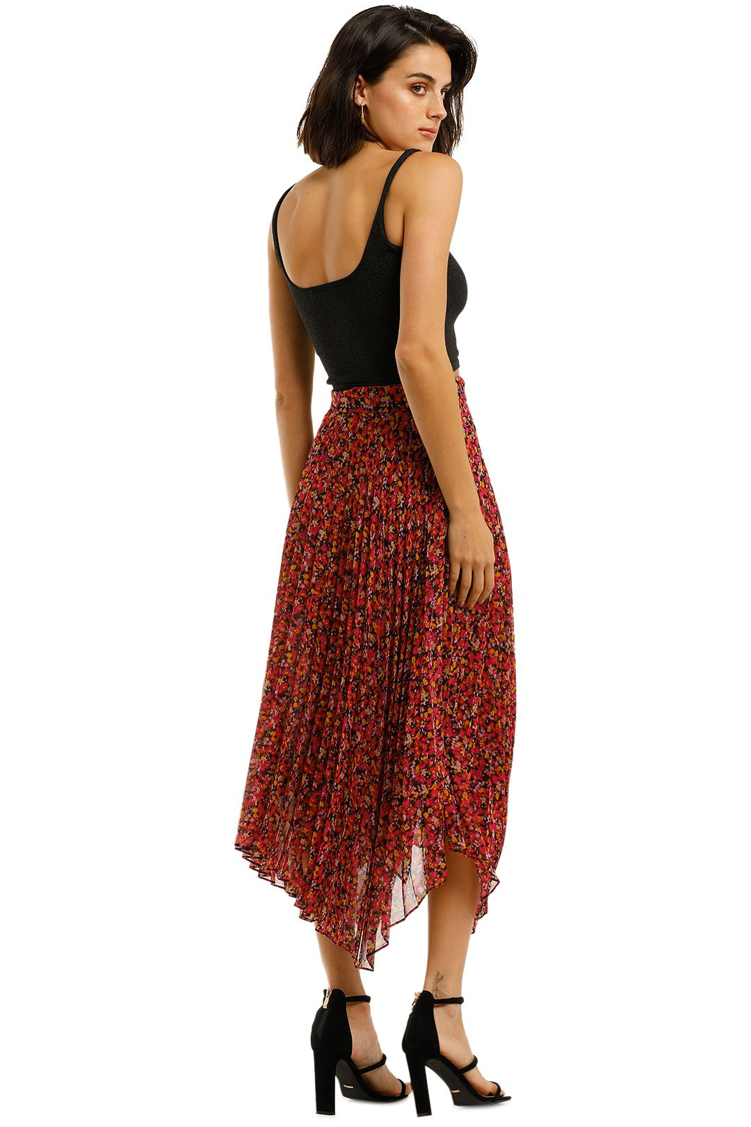 Camilla-and-Marc-Lilia-Skirt-red-Back