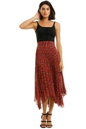 Camilla-and-Marc-Lilia-Skirt-red-Front