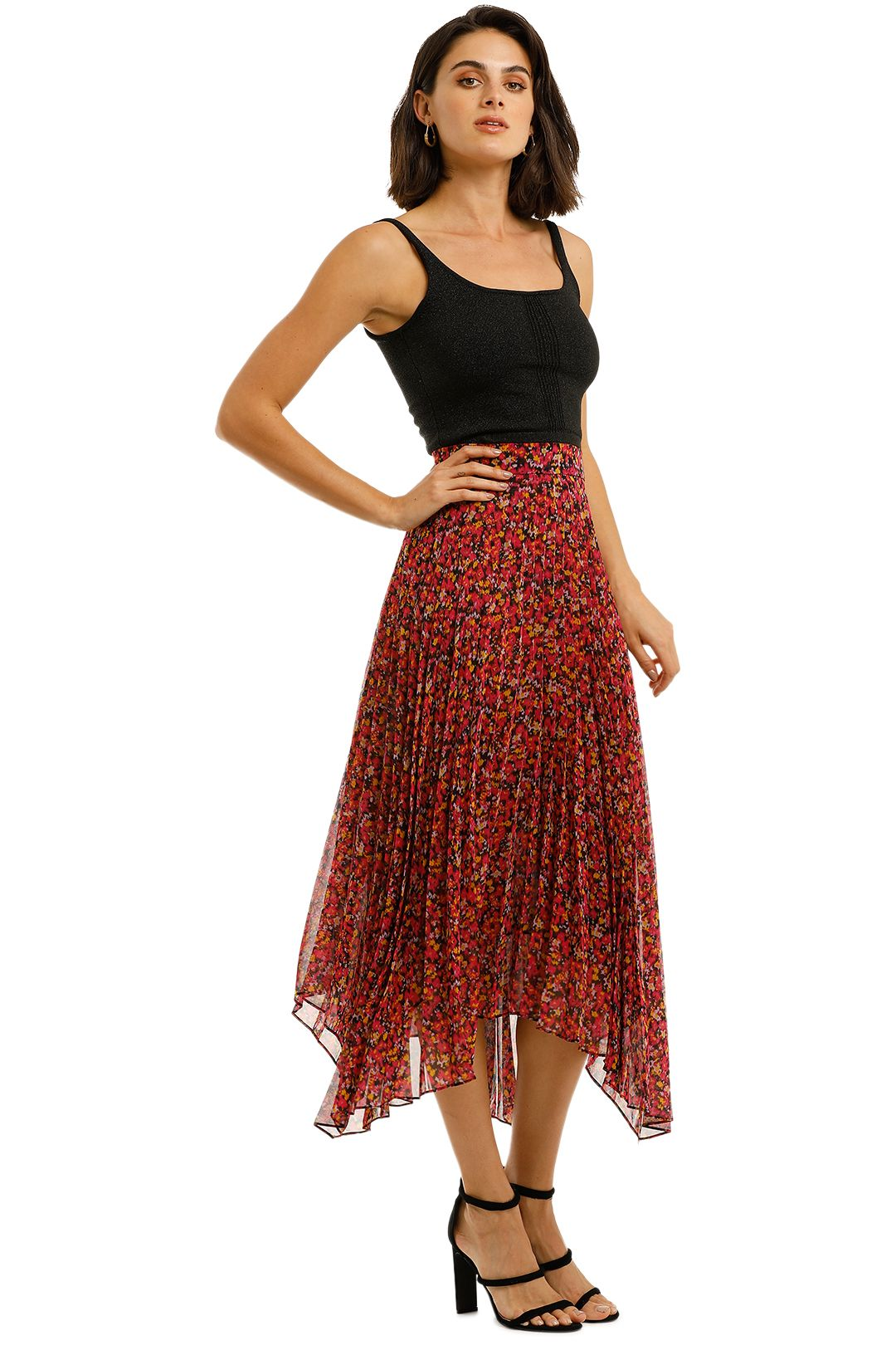Camilla-and-Marc-Lilia-Skirt-red-Side