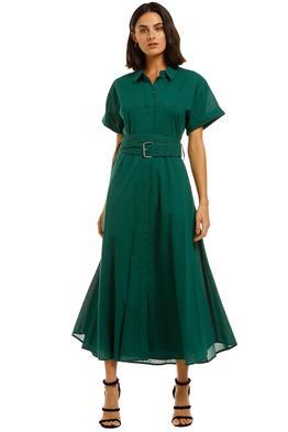 Camilla-and-Marc-Maya-Dress-Emerald-Green-Front