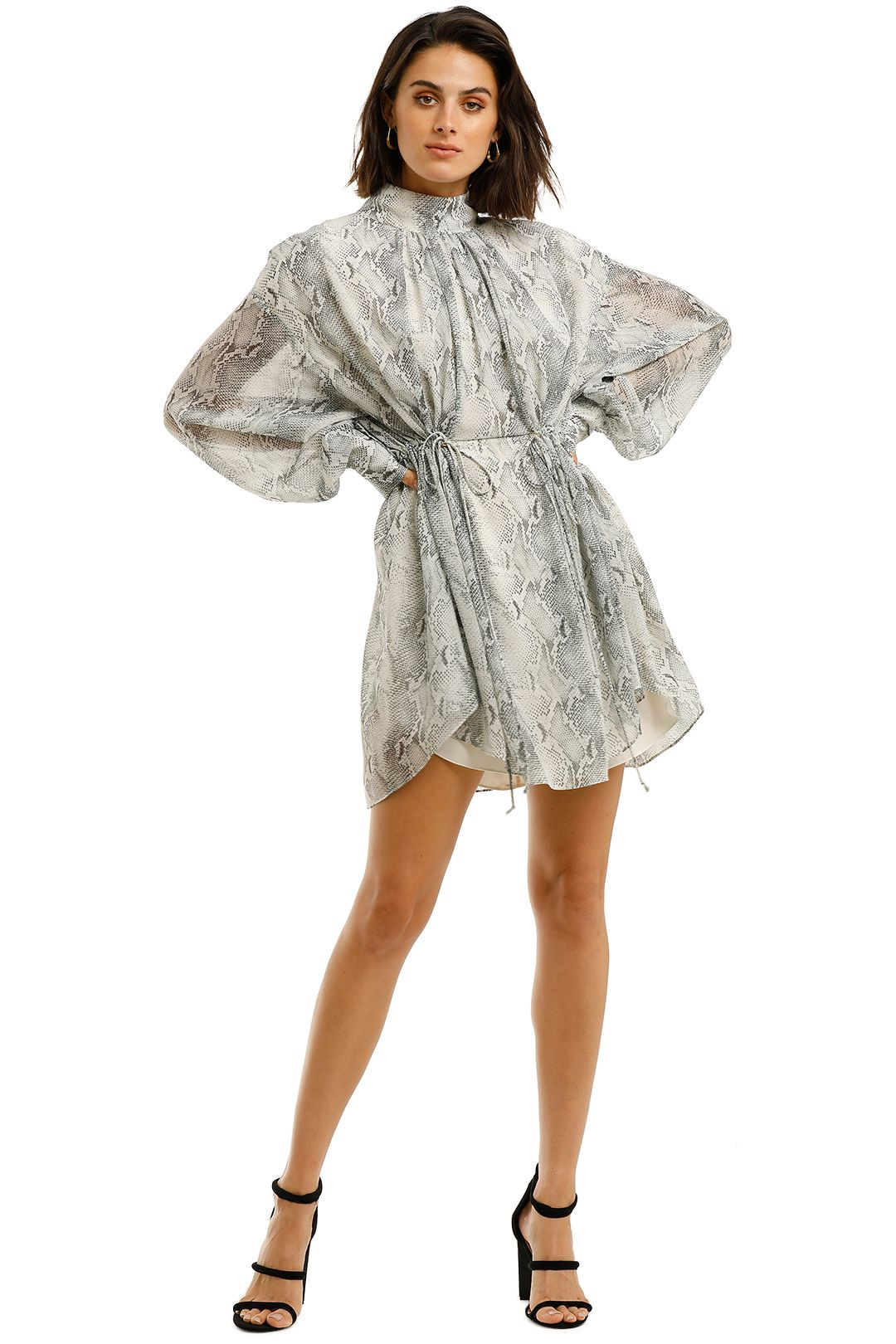 Camilla-and-Marc-Riley-Dress-Snake-Print-Front