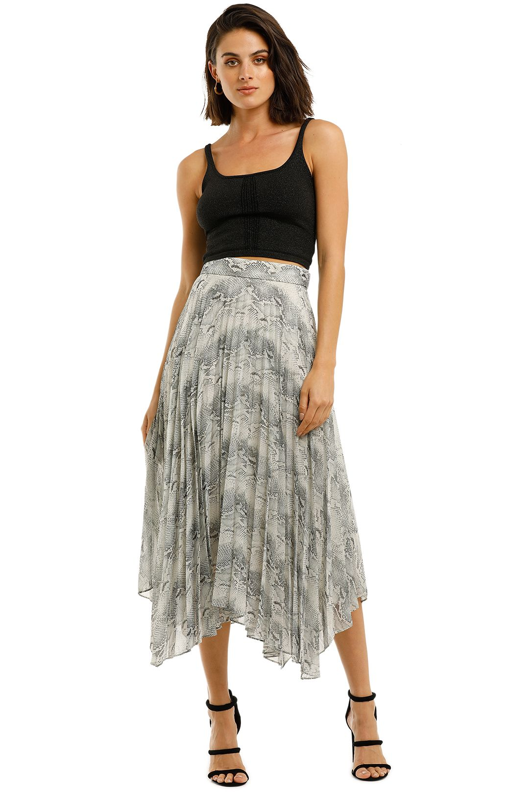 Camilla-and-Marc-Riley-Skirt-Snake-Print-Front