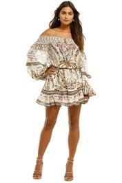 Camilla-Off-Shoulder-Short-Dress-Olympe-Front