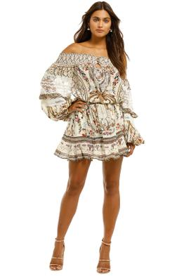 Camilla-Off-Shoulder-Short-Dress-Olympe-Front
