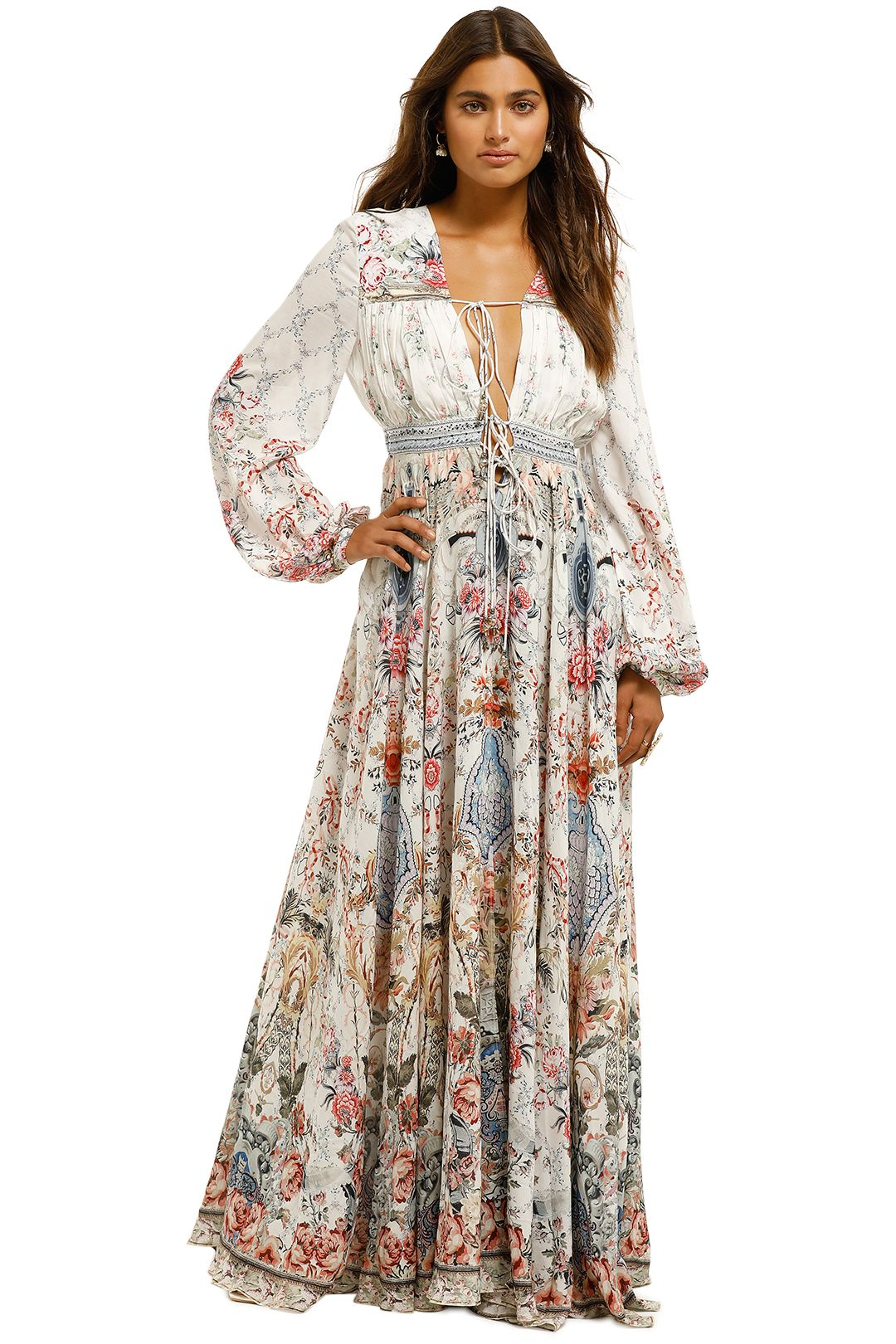 Camilla-Peasant-Dress-with-Tie-Front-Souther-Bell-Front