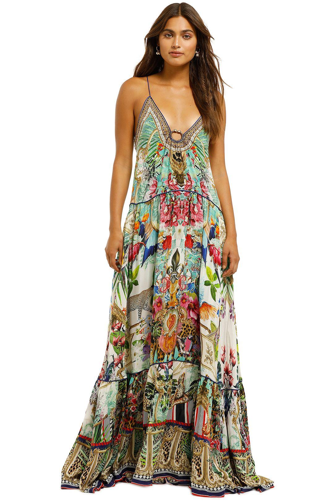 Camilla-U-Ring-Maxi-Dress-Champagne-Coast-Front