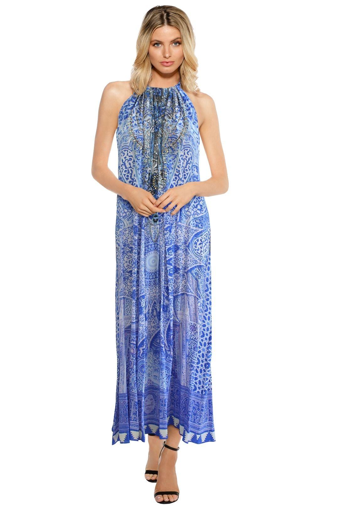 Camilla - Bosphorous Drawstring Dress - Prints - Front