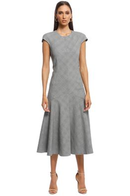 Camilla and Marc - Ackley Midi Dress - Grey - Front