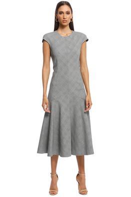 Camilla and Marc - Ackley Midi Dress - Grey - Front