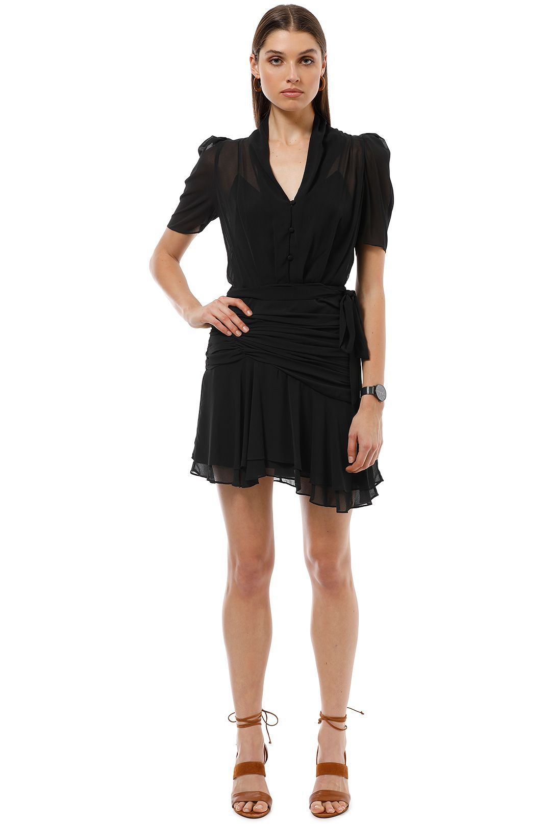 Camilla and Marc - Albright Dress - Black - Front